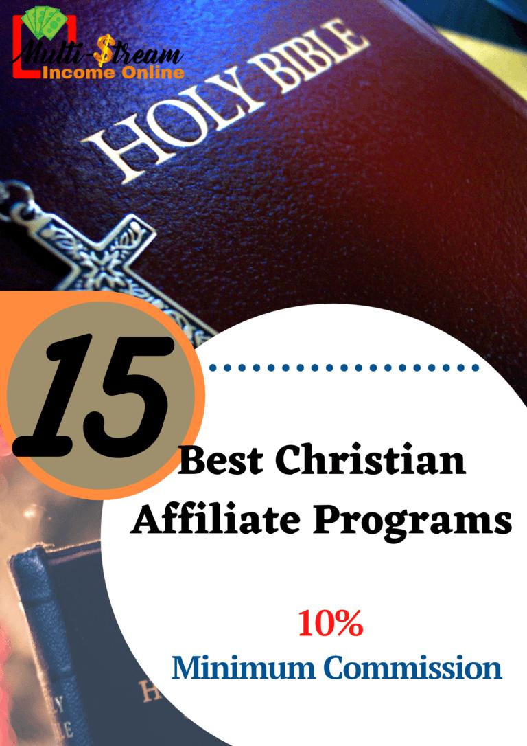 Best Christian Affiliate Programs