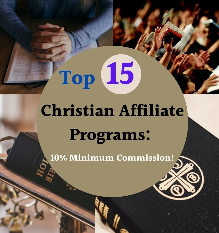Christian Affiliate Programs with commissions over 10%