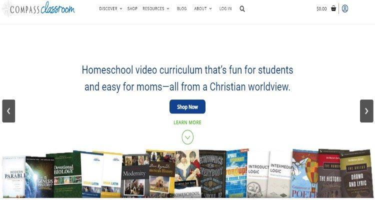 Compass Classroom Affiliate Program for homeschooling bloggers