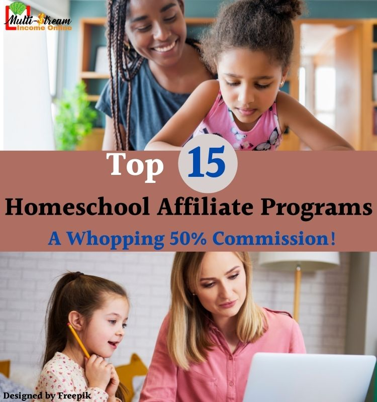High affiliate commissions for homeschool programs