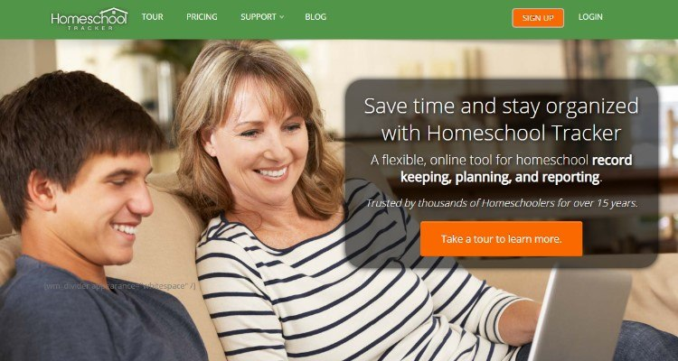 Homeschool Tracker Affiliate Program for homeschooling bloggers