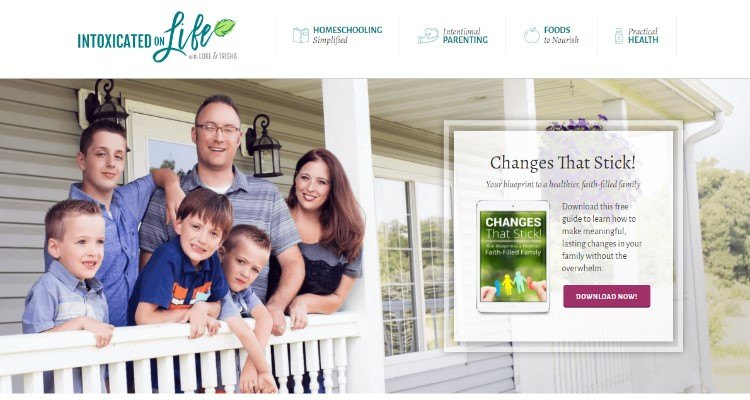Intoxicated on Life Affiliate Program for homeschooling bloggers
