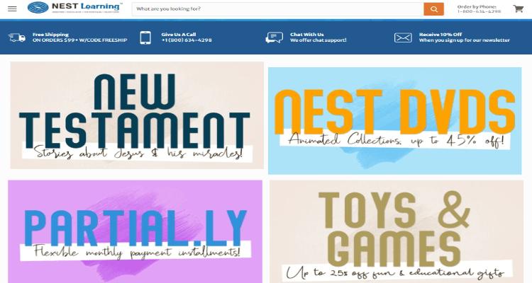 Nest Learning Affiliate Program for Christian Affiliate Marketers