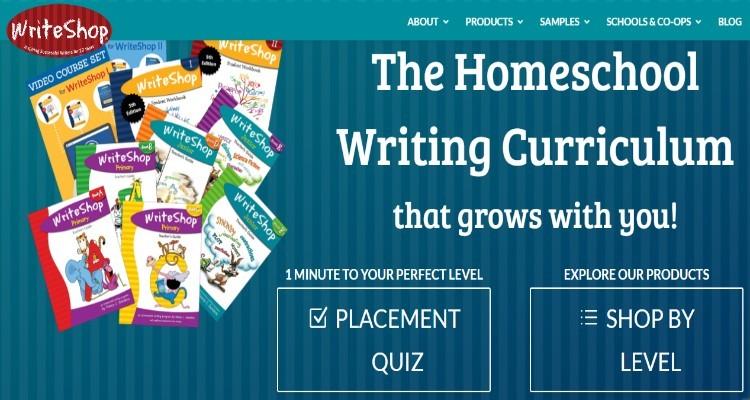 WriteShop Affiliate Program for affiliate marketers into homeschooling