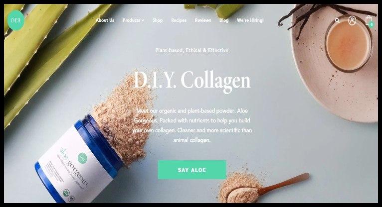 Ora Organic Vegan Affiliate Program for marketers