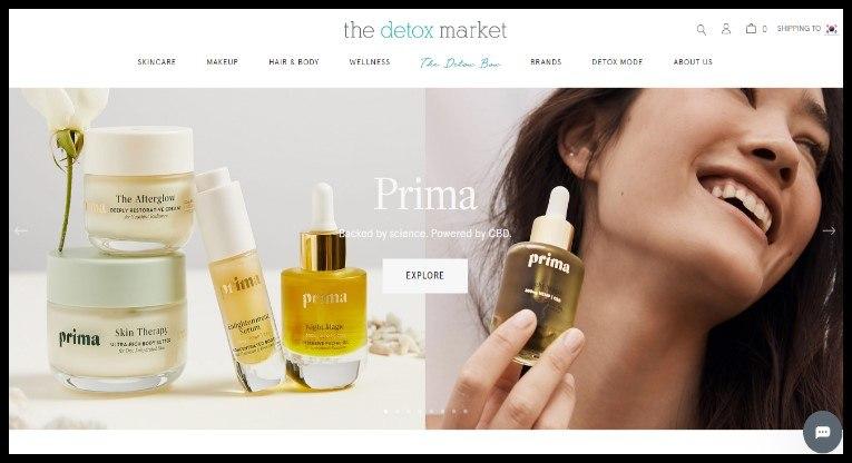 The Detox Market Affiliate Program for All Vegan Products